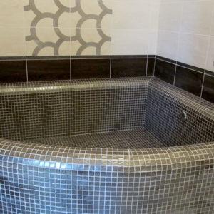 Капитальный ремонт квартиры - ванная из плитки