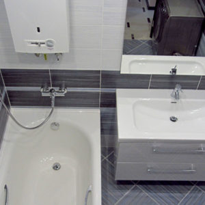 Капитальный ремонт квартиры - ванная комната