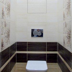 Капитальный ремонт квартиры - туалет