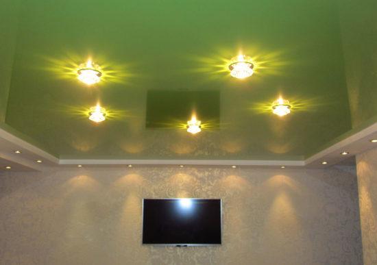 Косметический ремонт квартиры - заказть натяжной потолок в Волгограде