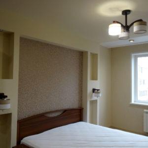 Ремонт с новостройке - спальня