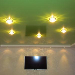 Косметический ремонт квартиры - заказать натяжной потолок в Волгограде