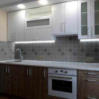 Капитальный ремонт квартиры - кухня вид 2