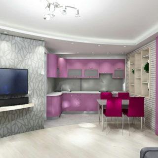 Капитальный ремонт трехкомнатной квартиры по дизайн проекту | ул. Воронова, 10