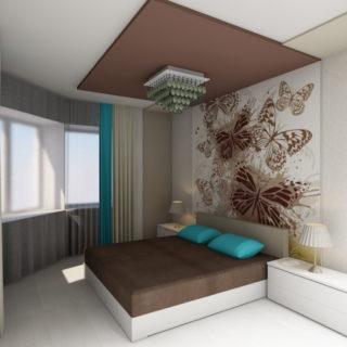 Дизайнерский ремонт двухкомнатной квартиры в новостройке